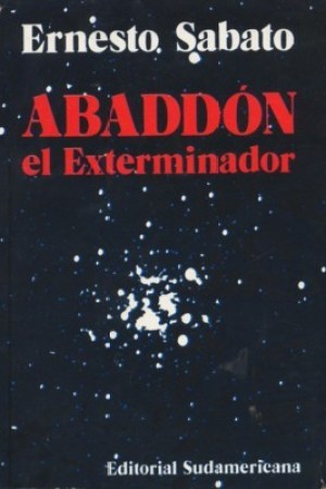 Reading books Abaddn el Exterminador