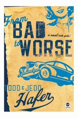 Reading books From Bad to Worse: A Novel with Girls