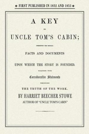 Reading books Key to Uncle Tom's Cabin