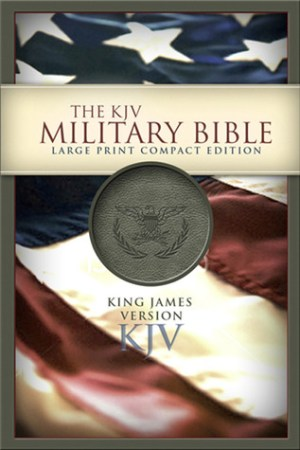 Reading books The KJV Military Bible King James Version