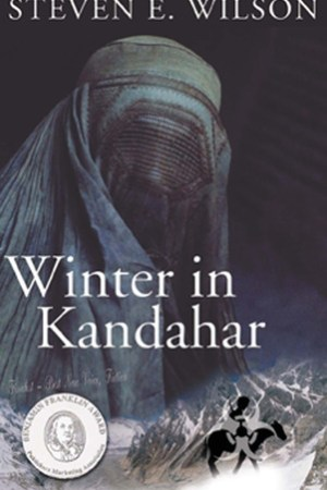 Reading books Winter in Kandahar