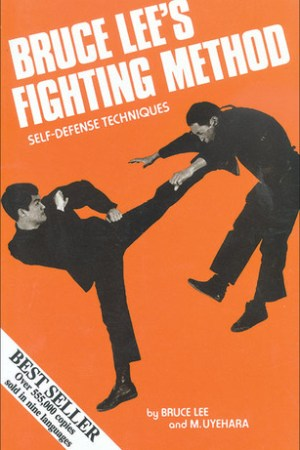 Reading books Bruce Lee's Fighting Method: Self-Defense Techniques, Vol. 1