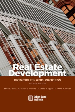 Reading books Real Estate Development: Principles and Process