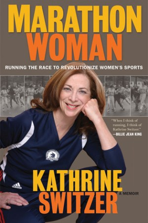 Reading books Marathon Woman: Running the Race to Revolutionize Women's Sports