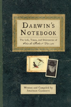 Reading books Darwin's Notebook: The Life, Times, and Discoveries of Charles Robert Darwin