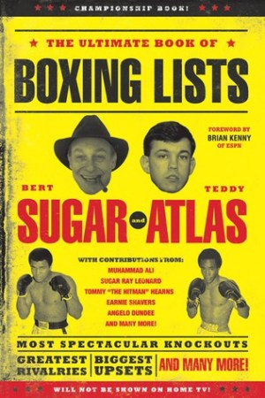Reading books The Ultimate Book of Boxing Lists