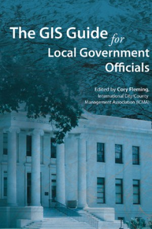Reading books The GIS Guide for Local Government Officials