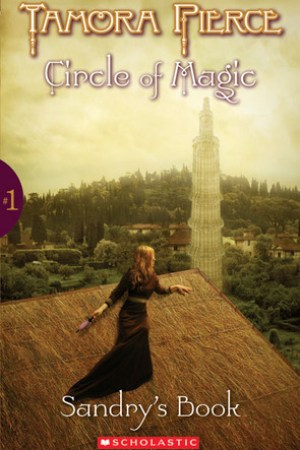 Reading books Sandry's Book (Circle of Magic, #1)