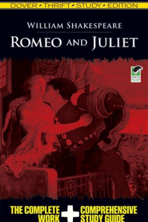 Reading books Romeo and Juliet