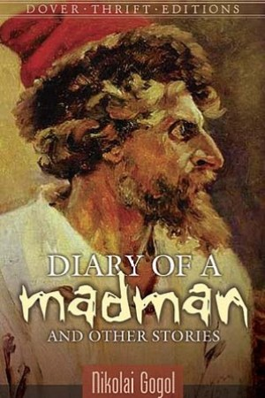 Reading books Diary of a Madman and Other Stories