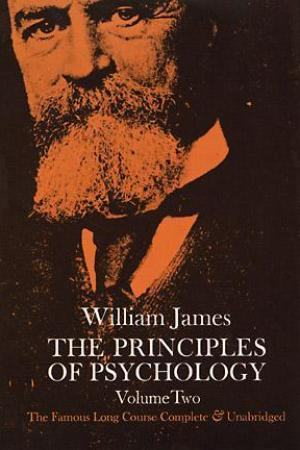 Reading books The Principles of Psychology Vol 2
