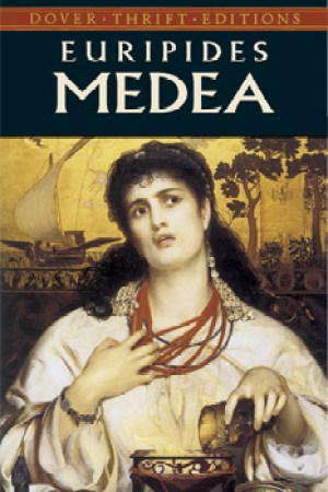 Reading books Medea