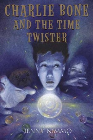 Reading books Charlie Bone and the Time Twister (The Children of the Red King, Book 2)