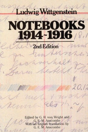 Reading books Notebooks 1914-1916
