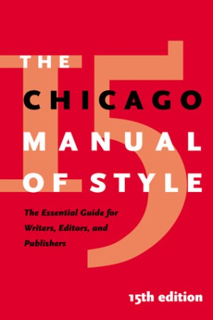 The Chicago Manual of Style pdf books
