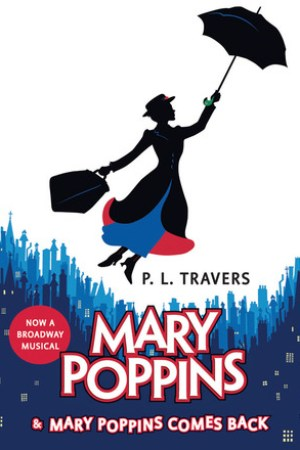 Reading books Mary Poppins and Mary Poppins Comes Back