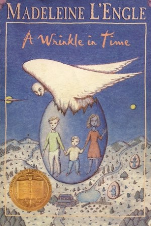 Reading books A Wrinkle in Time (A Wrinkle in Time Quintet, #1)