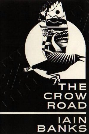 Reading books The Crow Road