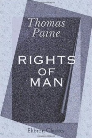 Reading books Rights of Man