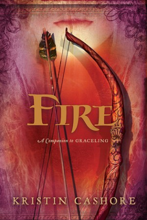 Reading books Fire (Graceling Realm, #2)