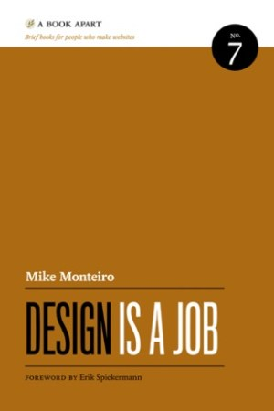Reading books Design Is a Job