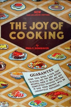 Reading books The Joy of Cooking: A Compilation of Reliable Recipes with an Occasional Culinary Chat