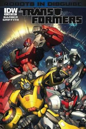 read online The Transformers: Robots In Disguise #1