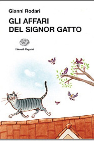 Reading books Gli affari del signor Gatto
