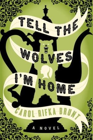 Reading books Tell the Wolves I'm Home