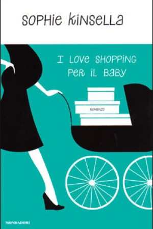 Reading books I love shopping per il baby