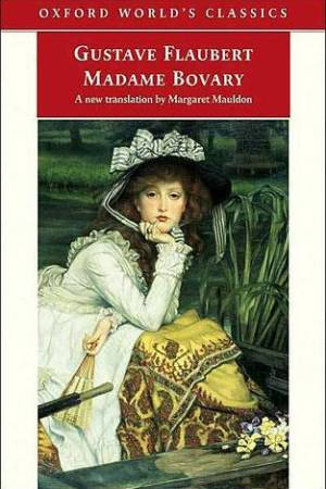Reading books Madame Bovary