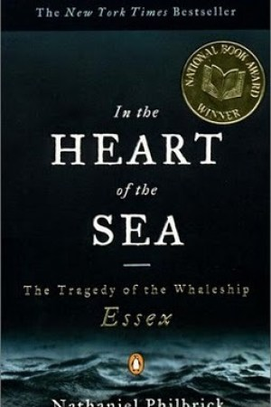 Reading books In the Heart of the Sea: The Tragedy of the Whaleship Essex