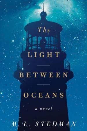 Reading books The Light Between Oceans