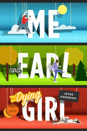 Reading books Me & Earl & the Dying Girl