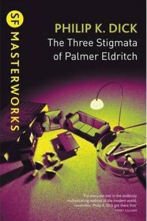 Reading books The Three Stigmata of Palmer Eldritch