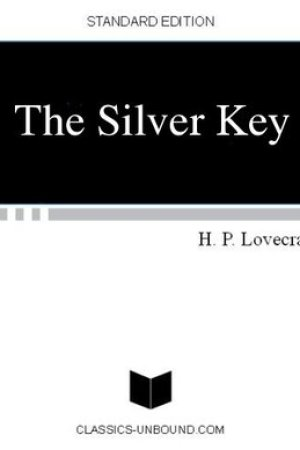 Reading books The Silver Key