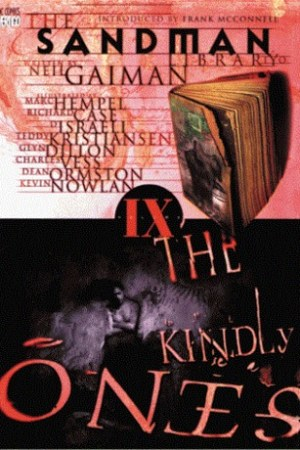 Reading books The Kindly Ones (The Sandman #9)