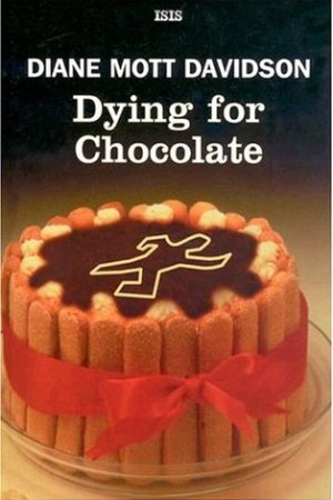 Reading books Dying for Chocolate (A Goldy Bear Culinary Mystery, #2)