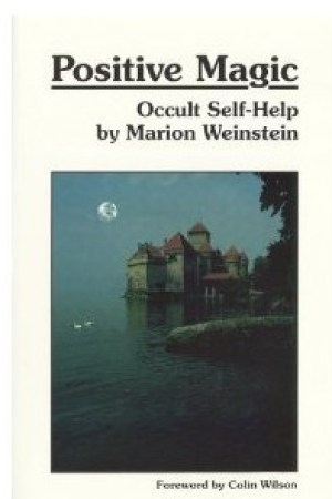 Reading books Positive Magic: Occult Self-Help