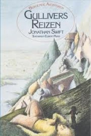 Reading books Gullivers reizen