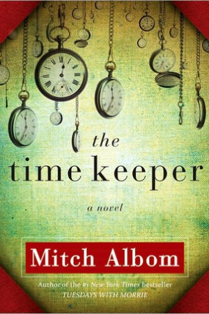 Reading books The Time Keeper
