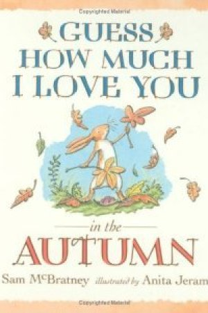 Reading books Guess How Much I Love You In The Autumn