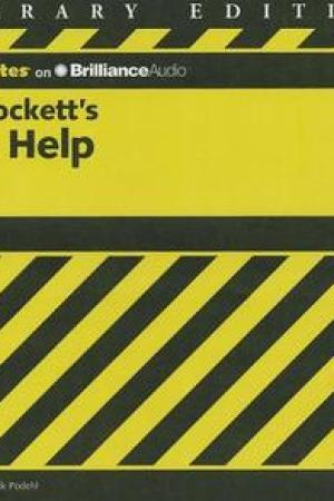 Reading books CliffsNotes on Stockett's The Help (CliffsNotes)
