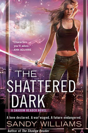 Reading books The Shattered Dark (Shadow Reader, #2)