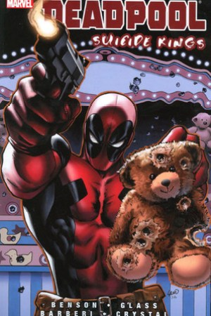 Reading books Deadpool: Suicide Kings