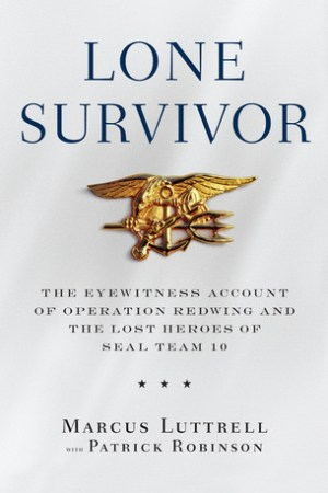 Reading books Lone Survivor: The Eyewitness Account of Operation Redwing and the Lost Heroes of SEAL Team 10