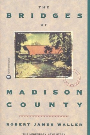Reading books The Bridges of Madison County