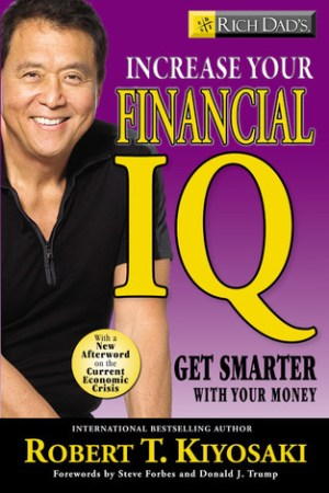 Reading books Rich Dad's Increase Your Financial IQ: Get Smarter with Your Money