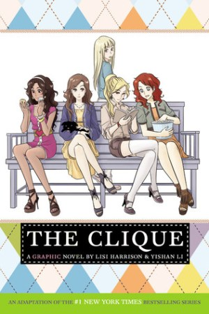 Reading books The Clique: The Manga