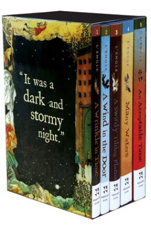 Reading books The Wrinkle in Time Quintet - Digest Size Boxed Set (A Wrinkle in Time Quintet, #1-5)